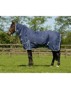 QHP Blanket turnout fixed neck 300gr