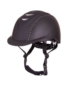 BR riding helmet Viper Patron Carbon Crystal VG1