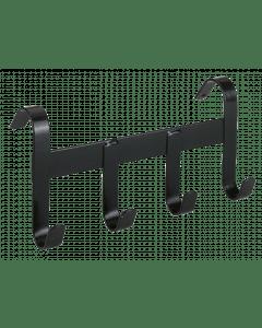 Hofman Halter holder metal with 4 suspension hooks black
