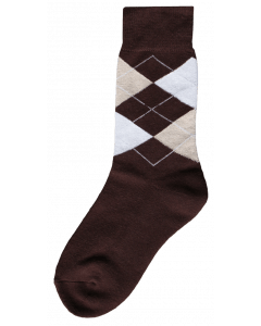Excellent Riding sock brown / beige / white 43-46
