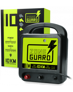 ZoneGuard Electric fence tape energiser Mains 10 km
