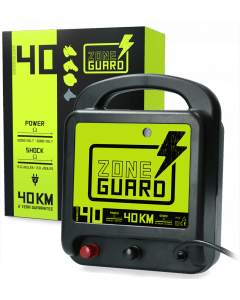ZoneGuard Electric fence tape energiser Mains 40 km