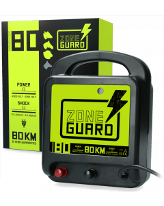 ZoneGuard Electric fence tape energiser Mains 80 km