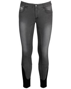Harry's Horse Riding breeches men Liciano Denim Full Grip