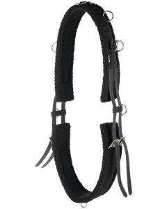Harry's Horse Lunging girth faux fur