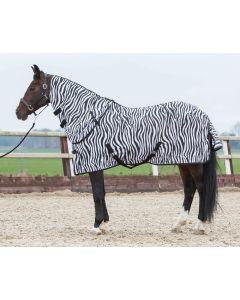 Harry's Horse Fly rug with detachable neck zebra