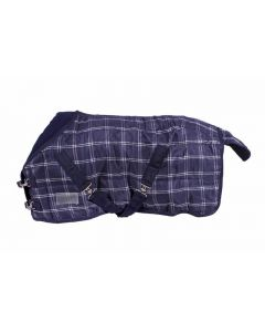 QHP Blanket stable luxury falabella 200gr Blue diamond