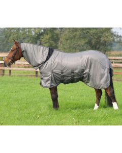 QHP Fly rug with elastic neck piece