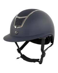 BR riding helmet Lambda Plus glitter