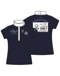 HV Polo Competition shirt Saffron