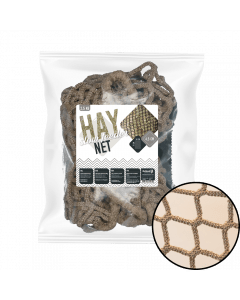 Excellent Hay Slowfeeder net 2.5 kg (5 mm thick, mesh size 45 mm)