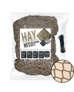 Excellent Hay Slowfeeder net especially for round bale