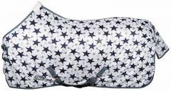 Harry's Horse Flysheet standard mesh with surcingles, white