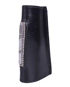 Stirrup strap sleeves Taylor Black / silver