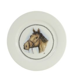 Farm shop Breakfast plate 21cm Horse