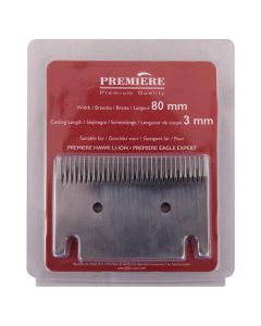 Cutting blade Premiere shaving machine3mm (80mm to hogting blade)