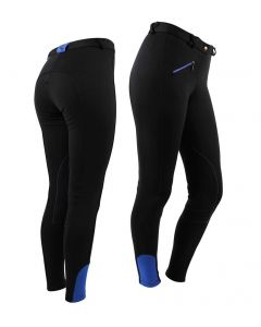 QHP Breeches Adult Black 42