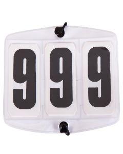 Start numbers white