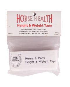 Measuring and weighing tape