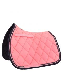 BR Saddle cover Event Versatility Coral Pink Cob