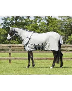 QHP Fly rug with neck + hat