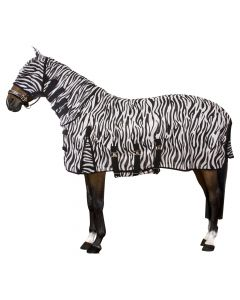 Imperial Riding Flying UV rug with neck, mask and belly flap ZEBRA