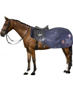 Fly training rug Fly Away Navy L