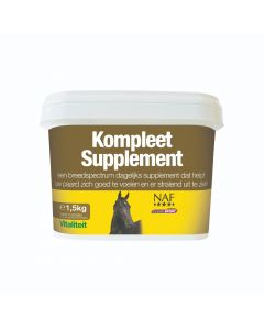 NAF COMPLETE SUPPLEMENT