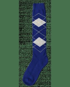 Excellent Knee socks RE d.blue / beige 43-46