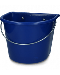 Vplast Food bowl with hanging and handle dark blue
