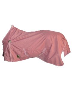 """MHS Turnout rug with fleece """"Curly Pink"""""""