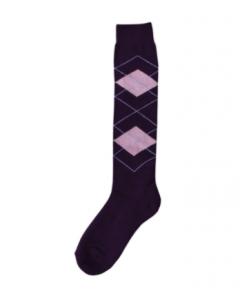 Excellent Knee socks RE purple / pink 43-46