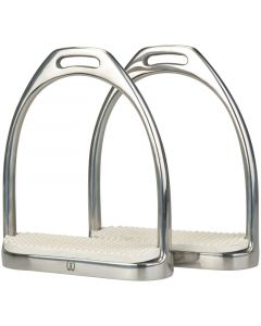 Imperial Riding IR-Filis brackets heavy stainless steel with soles