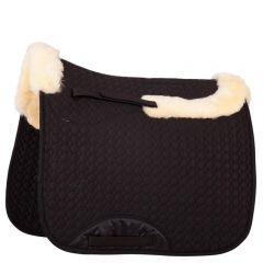 BR Saddle Pad Cutout Versatility Sheepskin