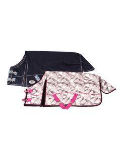 MHS Rain Rug Fishtail Origami with Fleece Lining