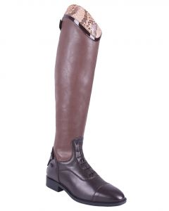 QHP Riding boot Birgit Snake Adult wide