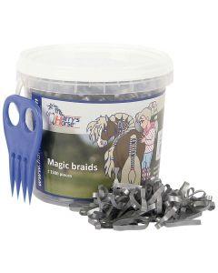 Harry's Horse Magic to plaits, pot