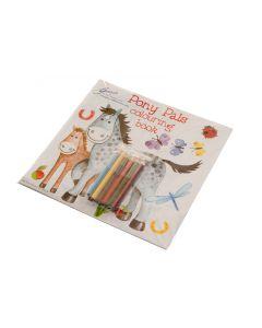 Horses Color/Puzzle Book 'Pony Pals'
