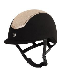 BR Riding helmet Sigma Microfiber Glitter.