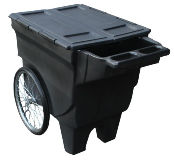 Hofman Sportote Feed Cart Black