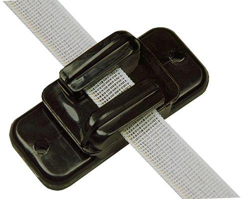 Hofman Insulator Ribbon / cord / wire Black to 20 mm