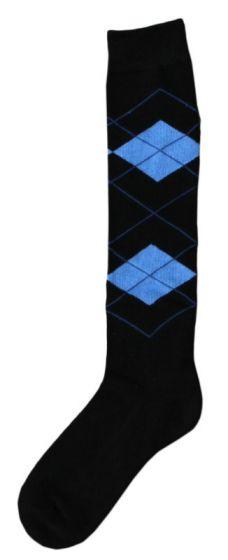 Hofman Knee Socks RE 35/38 Black/Aqua
