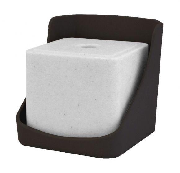 Hofman lick stone holder plastic DURA for 10 kg licks
