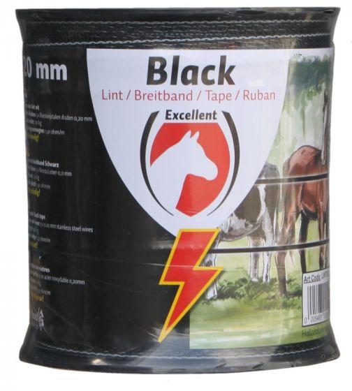 Hofman Ribbon Excellent Eco 200 m / 20 mm black